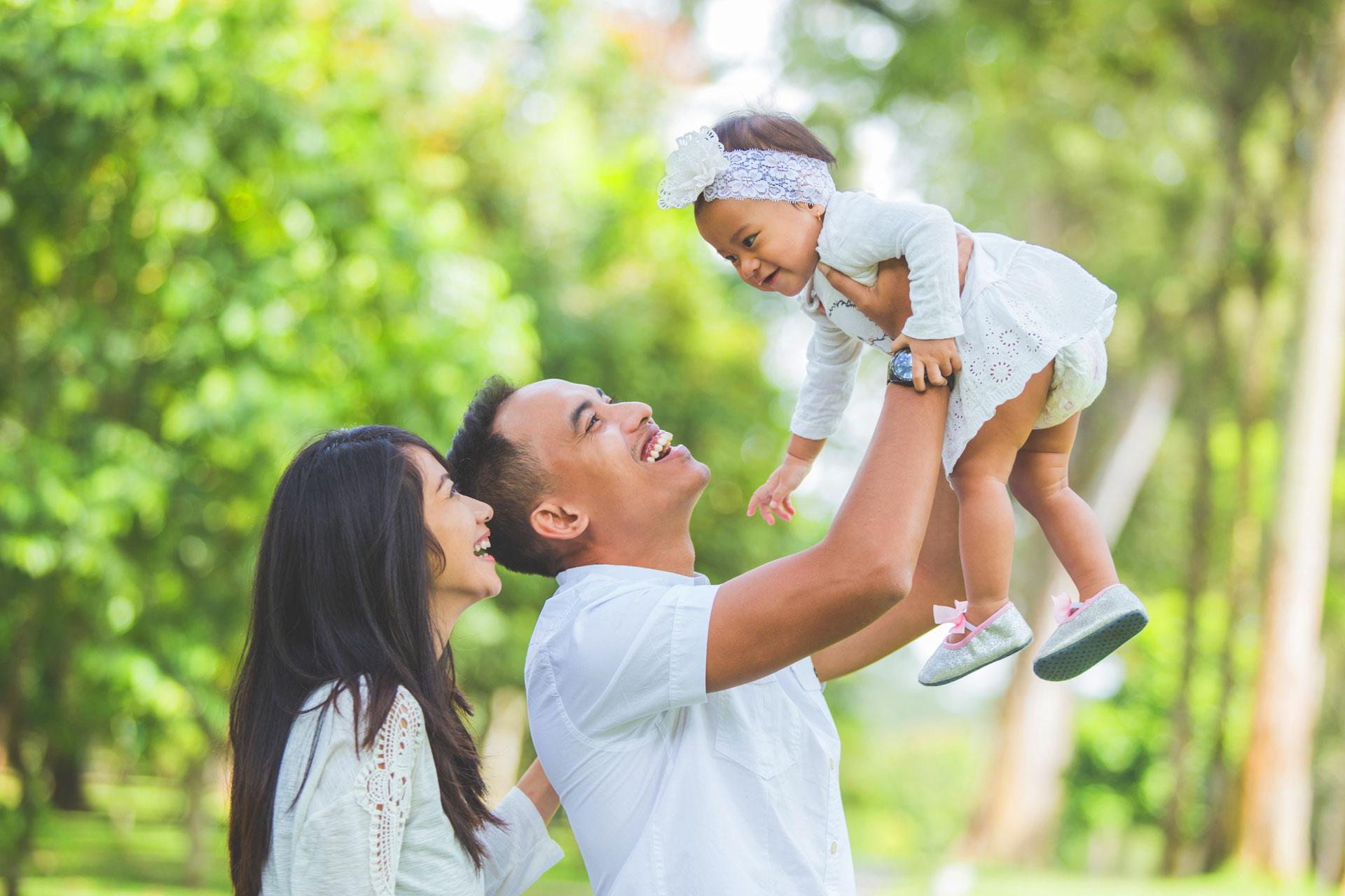 parents & baby